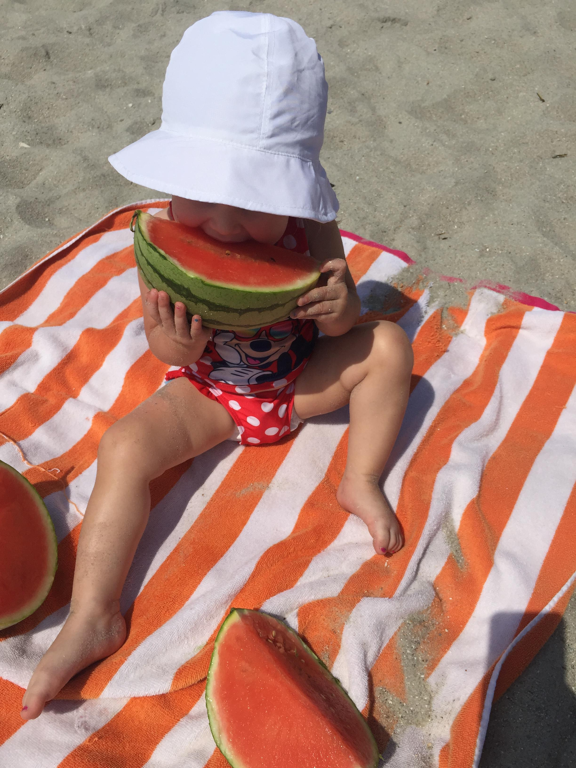 baby at the beach vacation myrtle beach