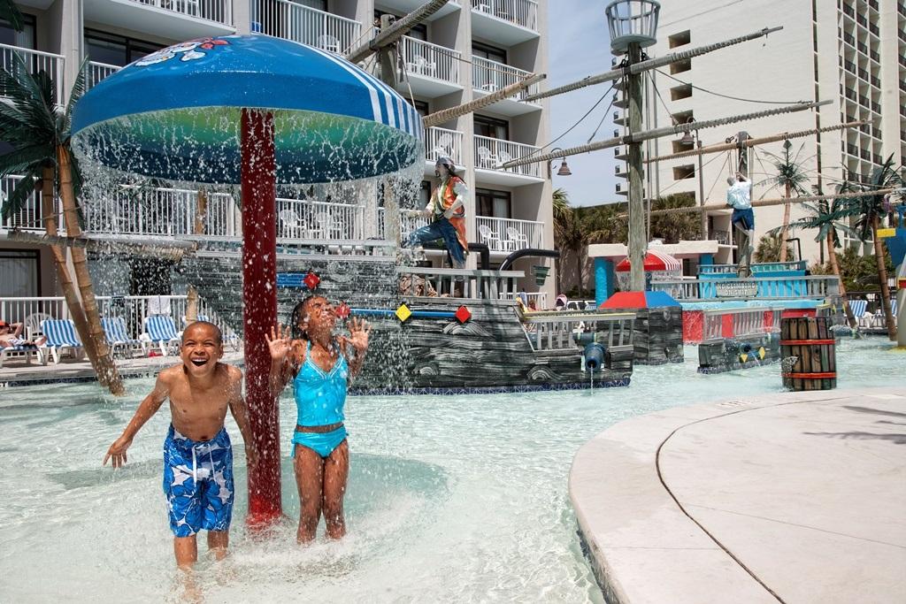 captain's quarters kids' waterpark