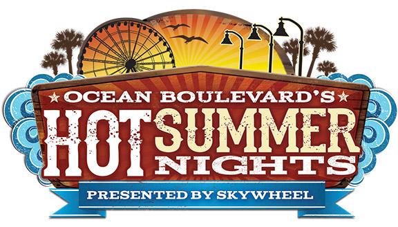 Hot Summer Nights at the Myrtle Beach Boardwalk