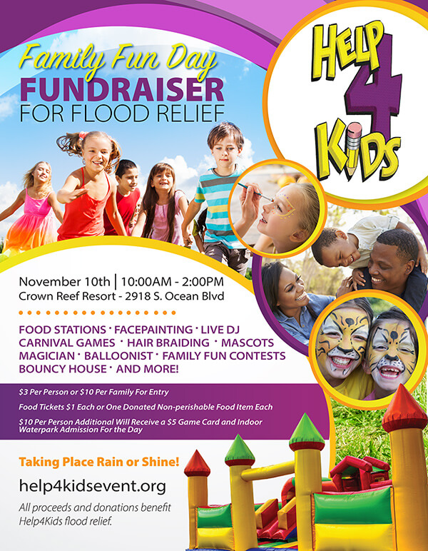 Help4Kids Family Fun Day, Myrtle Beach, SC
