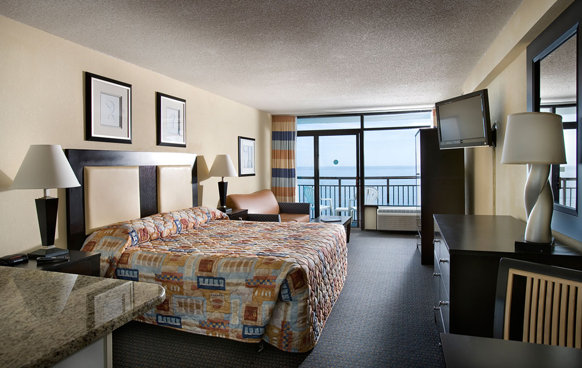 Landmark Resort Hotel Room Myrtle Beach