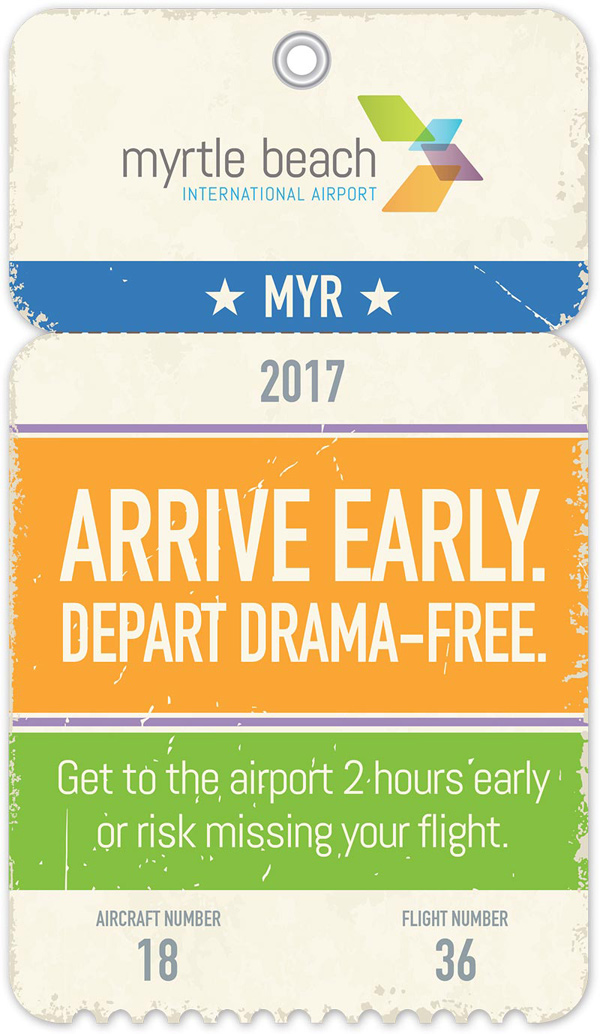 Arrive Early - Myrtle Beach Airport