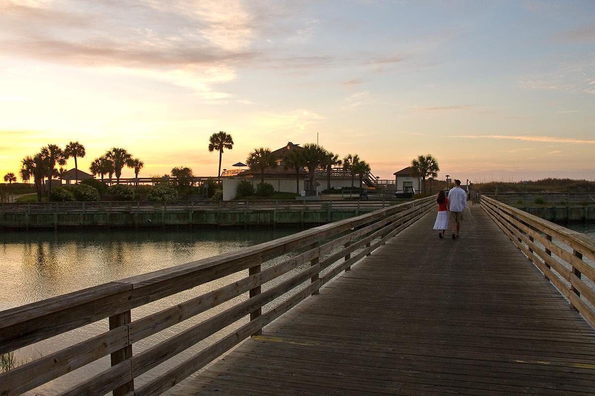 ocean creek resort walk to the beach