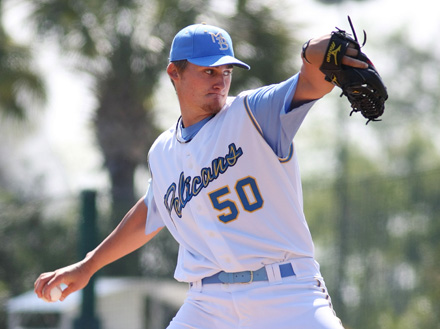 Myrtle Beach Pelicans baseball pitcher