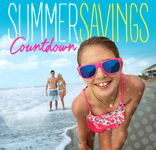Myrtle Beach Resorts Summer Savings Countdown Sale