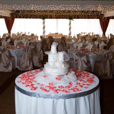 Wedding Cake At Resort In Myrtle Beach