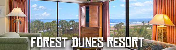 Forest Dunes Resort, CCMF Accommodation