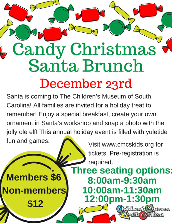Candy Christmas Santa Brunch