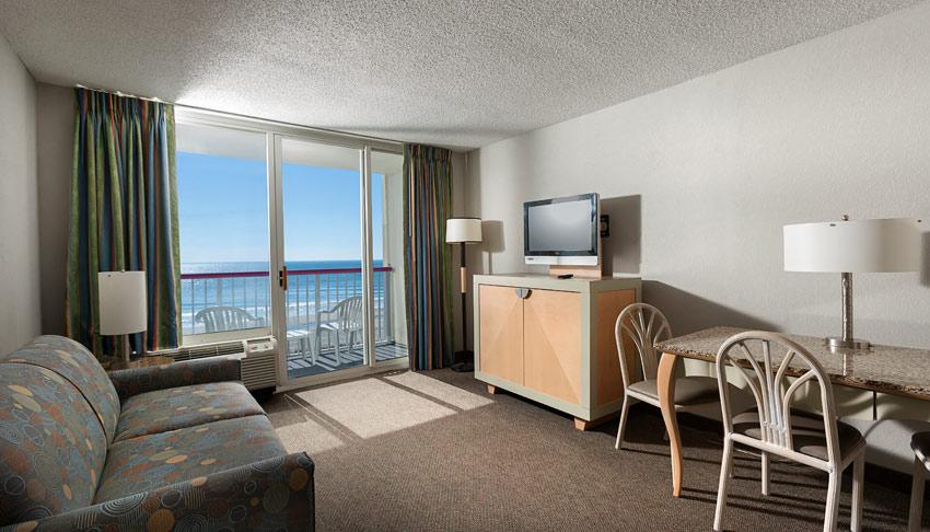 Oceanfront Suite at Crown Reef Resort