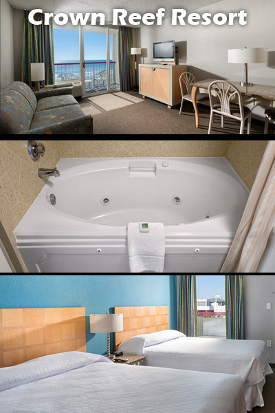 Cozy Up In These Myrtle Beach Resort Jacuzzi Suites
