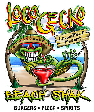 Loco Gecko - Crown Reef Location