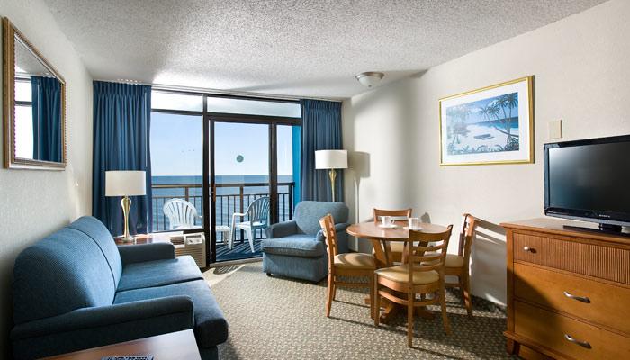 Landmark Resort Suite Living Room