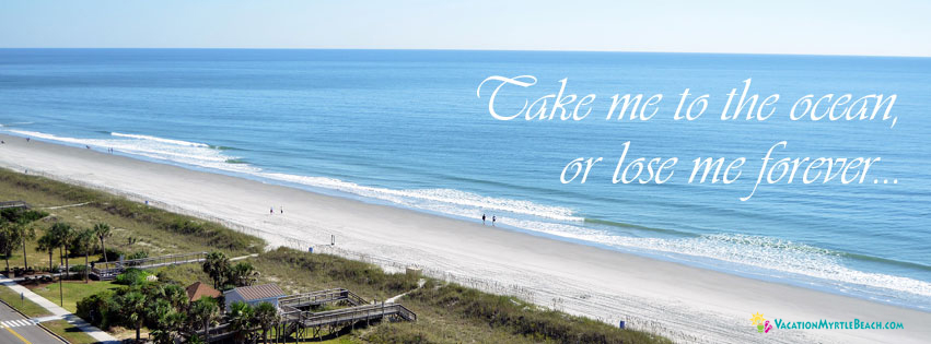 Take Me to the Beach or Lose Me Forever sign
