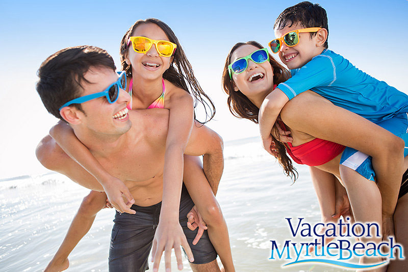 Cyber Monday Family on the Beach