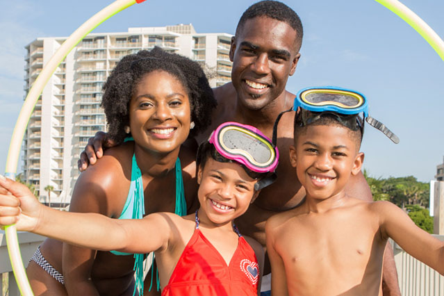 ocean creek resort is one of the best myrtle beach hotels for mothers day