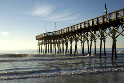 Fishing Piers at Myrtle Beach