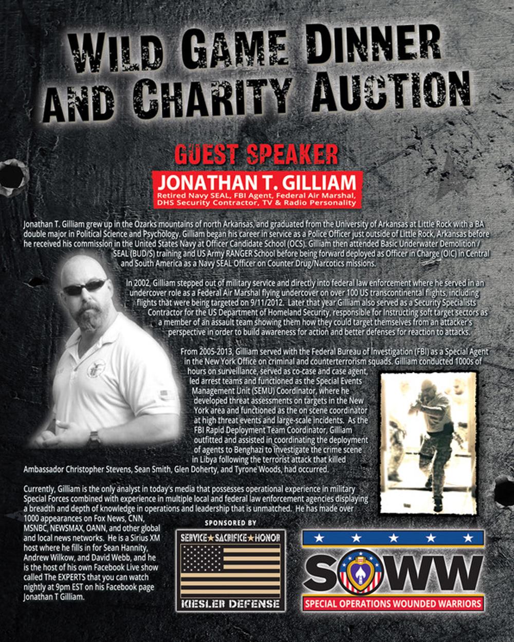 Guest Speaker Jonathan Gilliam