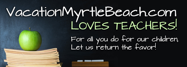 Myrtle Beach Hotel & Resort Discount For Teachers Coupon
